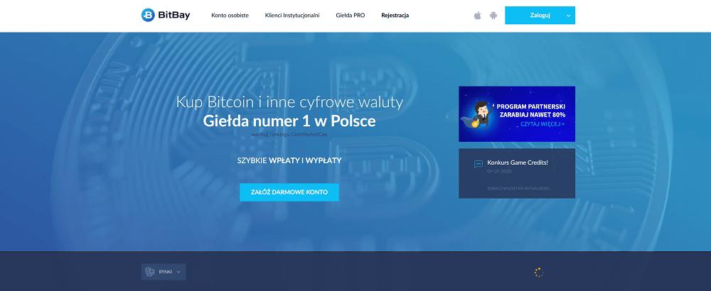 bitbay - kupno bitcoinów
